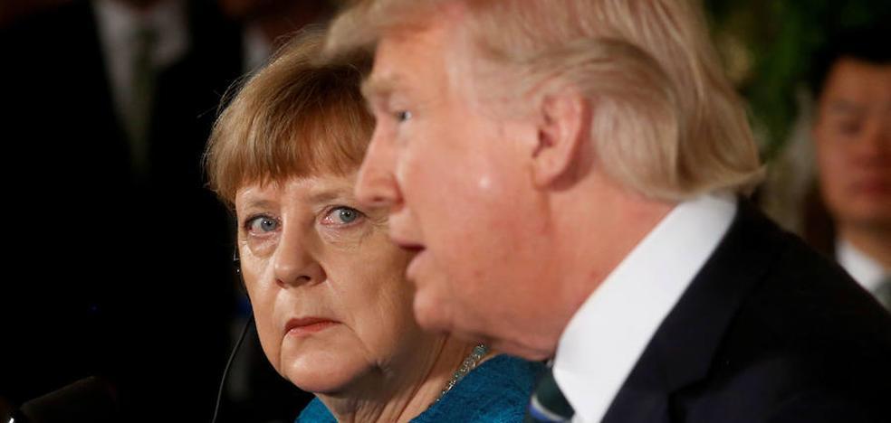 Merkel se opone a una acción militar entre Corea del Norte y EE UU