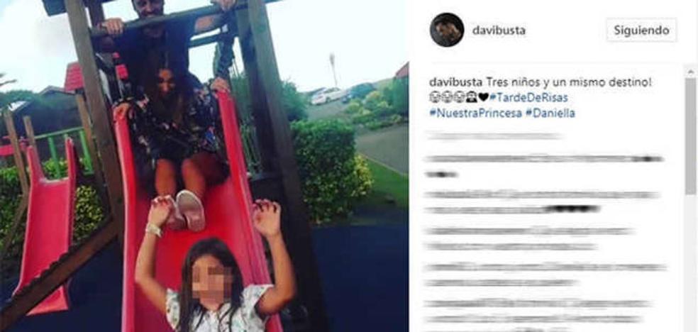 Paula Echevarría y David Bustamante, juntos de nuevo por su hija