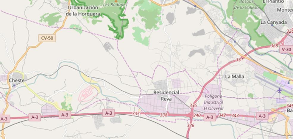 Retenciones en la A-3 a la altura de Riba-roja del Túria por el inicio del puente de agosto