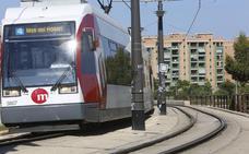 Paros parciales en el tranvía de Valencia los días 13 y 15 de agosto