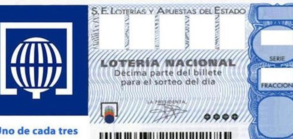 Vendida en Valencia una parte del primer premio de la Lotería Nacional