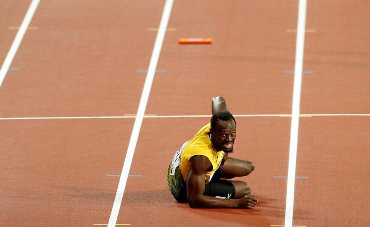 Fotos de la trágica despedida de Usain Bolt