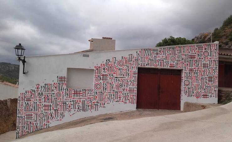 Fotos del festival de arte urbano de Fanzara