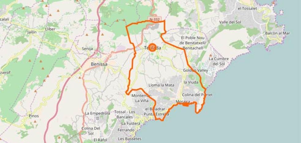 Un incendio entre Teulada y Benissa moviliza hasta tres medios aéreos