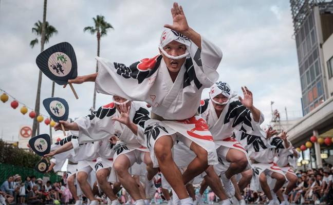 Awa Odori, el festival de danza japonés que alcanza los 1,2 millones de visitantes