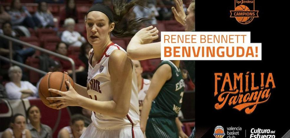 El Valencia Basket femenino ficha a la pívot Renee Bennett