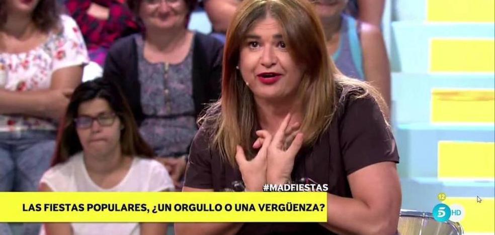 Lucía Etxebarria: «Me robaron completamente borracha en unos Sanfermines mientras practicaba sexo en la calle»