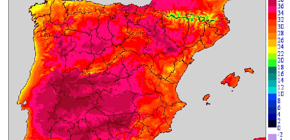 Las máximas se mantienen estables y alcanzan los 32 grados en Vinaròs