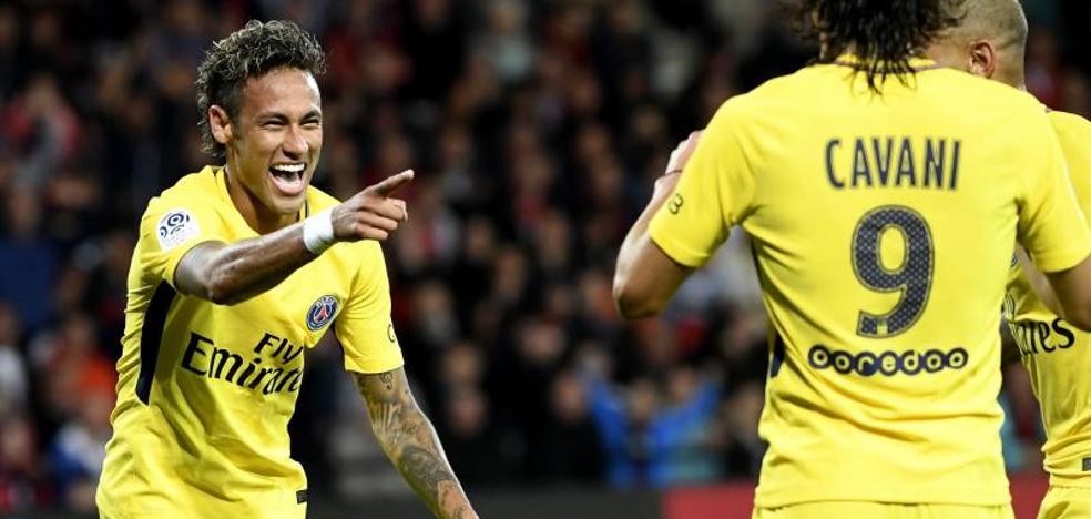Neymar y su debut soñado con el PSG