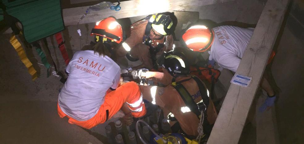 Una niña de 12 años resulta herida tras caer en un silo de 10 metros de profundidad en Riba-roja del Túria