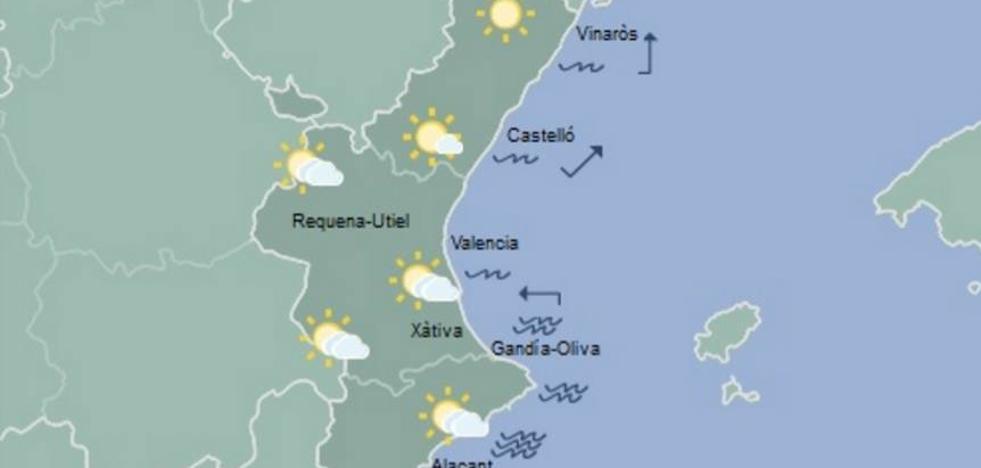 El tiempo en Valencia, Alicante y Castellón | Mañana, alerta amarilla por tormentas en el interior de Valencia y Castellón