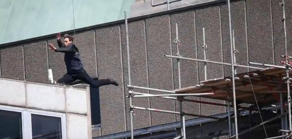 Tom Cruise, herido durante el rodaje de una escena acrobática de 'Misión Imposible 6'