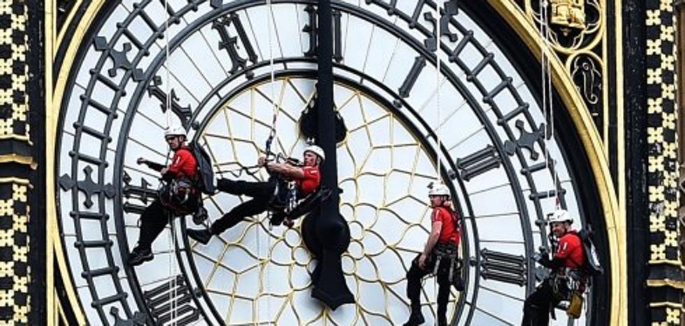 Cuatro años de silencio en el Big Ben