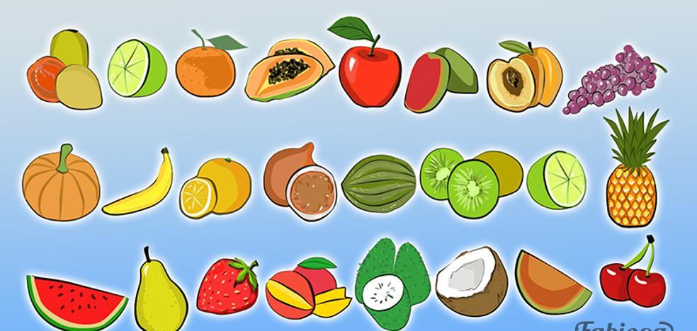 Solución: esta es la fruta que se repite