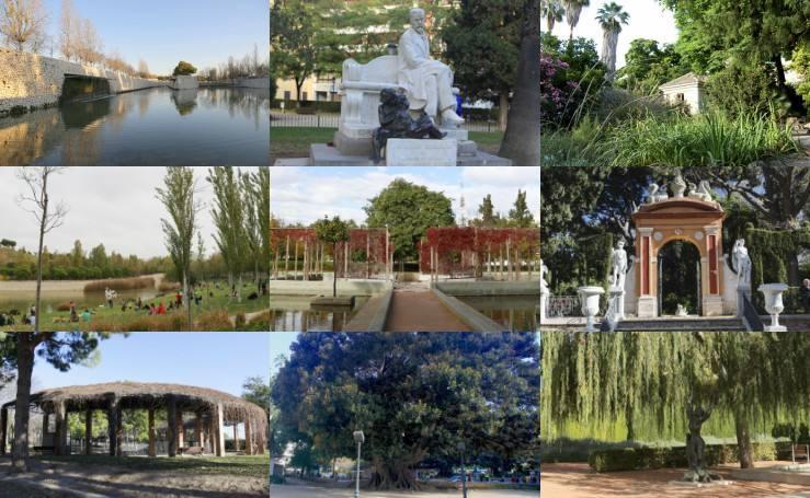 Fotos de los jardines más románticos de Valencia