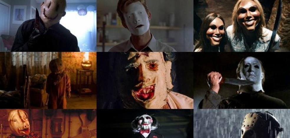 15 máscaras imprescindibles del cine de terror