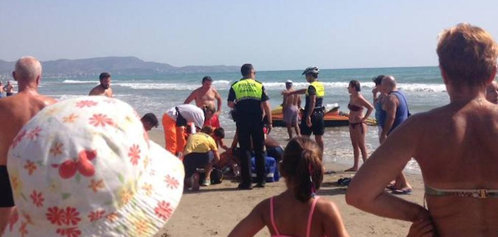 Muere otro bañista tras ser rescatado en una playa de Castellón