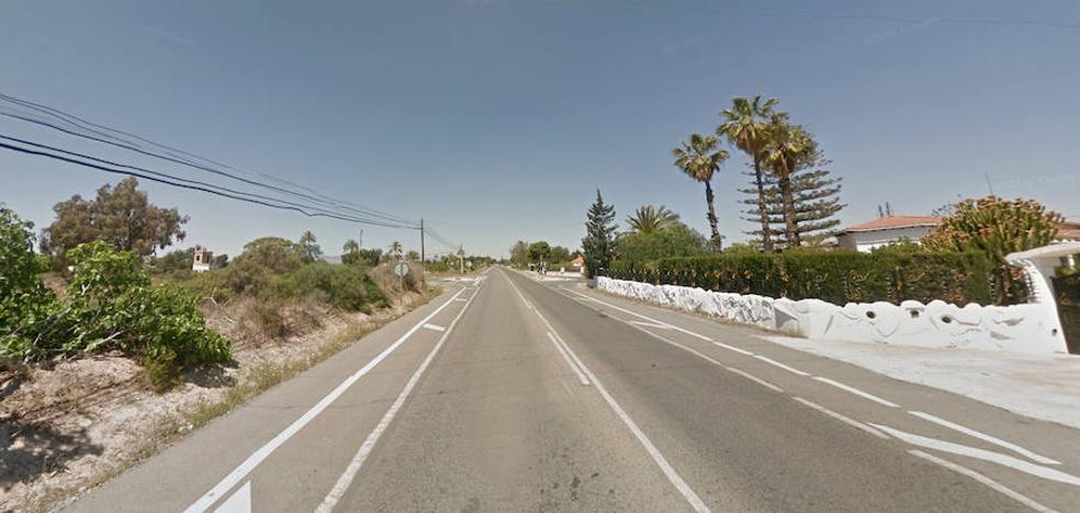 Un peatón fallece atropellado en la carretera entre Elche y Santa Pola