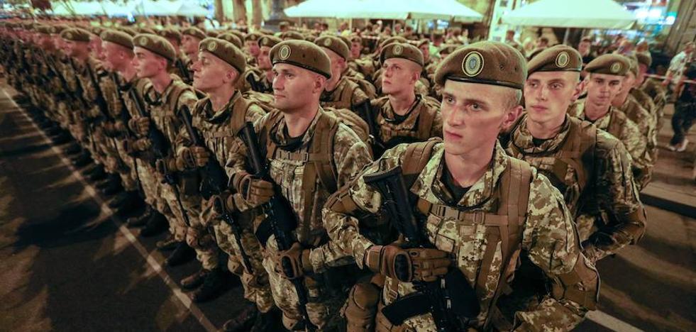 Ucrania instruyó a 28 unidades militares con criterios de la OTAN