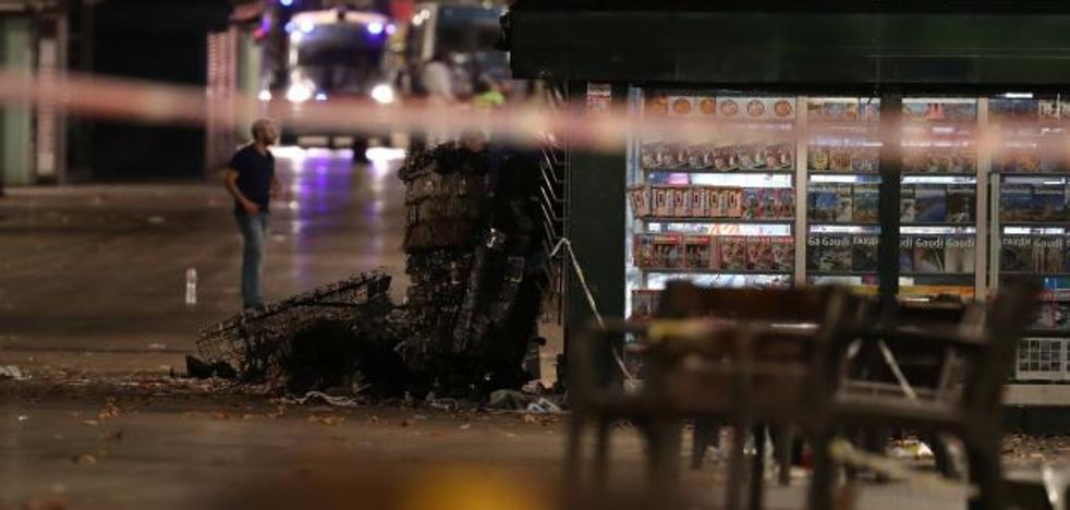 Última hora de los atentados en Barcelona y Cambrils