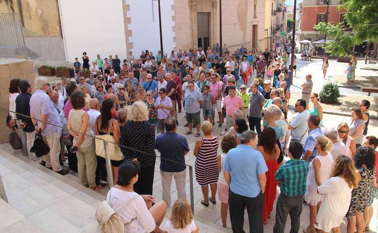 Fotos de los homenajes a las víctimas de los atentados de Barcelona y Cambrils en la Marina Alta