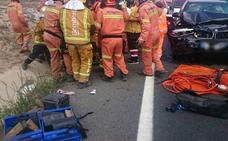 Un bebé de 3 meses y un menor de 15 años, heridos en un accidente en Villena