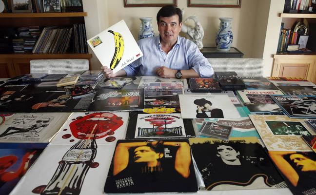 Fernando Giner: «Tengo la colección y algunas rarezas de The Velvet Underground»