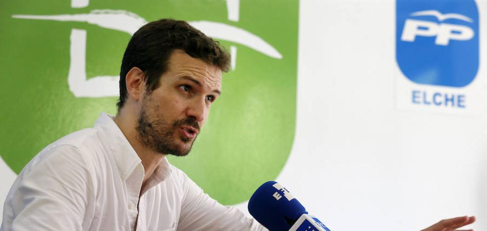 Pablo Casado: «Isabel Bonig es la persona idónea para encabezar la candidatura al Consell»