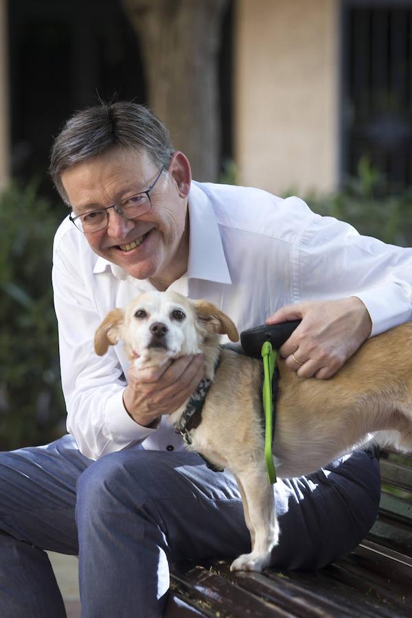 Ximo Puig: «Lo que más me gusta al llegar a casa es ver a mi perro, Pancho»