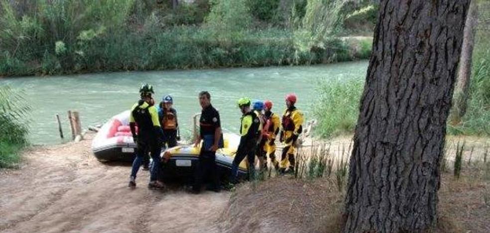 Así está siendo la búsqueda del niño desaparecido en el río Cabriel