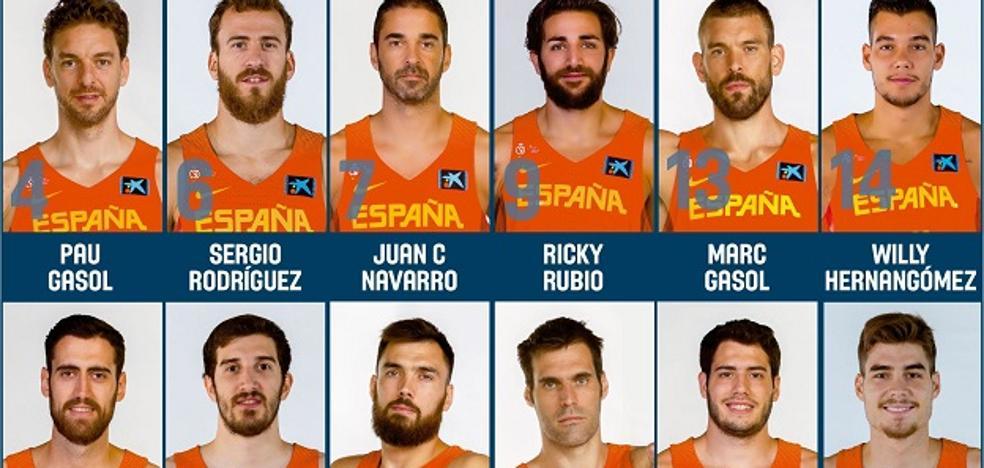 Tres jugadores de Valencia Basket, en la lista definitiva de España para el Eurobasket 2017