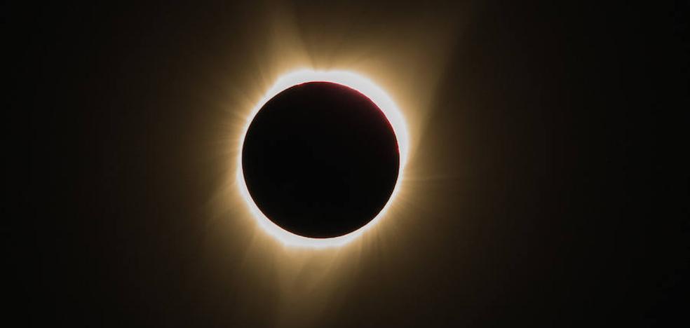 El eclipse solar, en imágenes