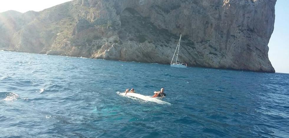 Rescatan dos embarcaciones en el Cap de Sant Antoni