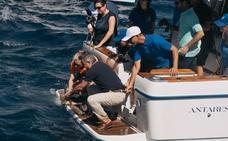 La tortuga 'Chiquiti' vuelve al mar en Xàbia