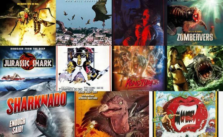 Imágenes de las películas de culto del cine de serie b
