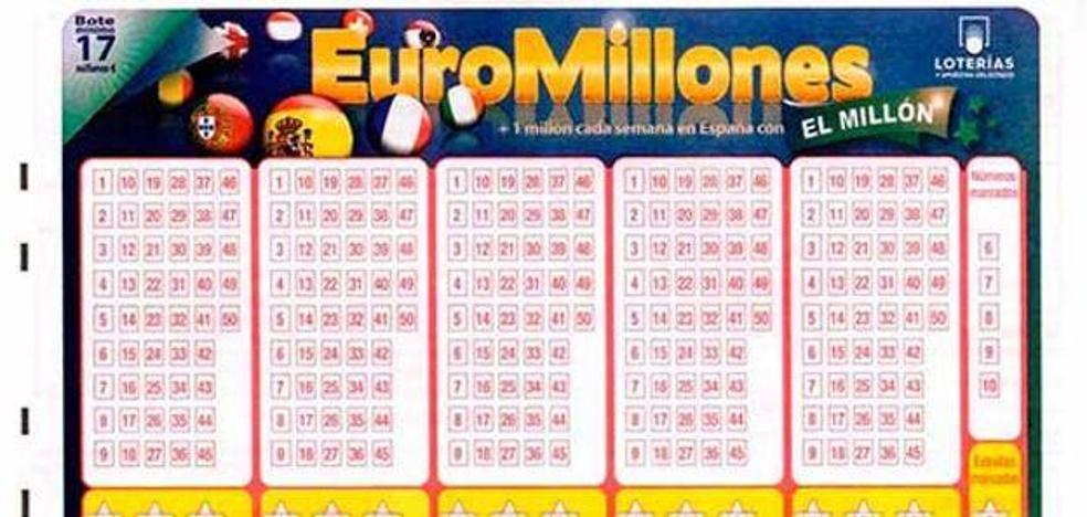 Un acertante de segunda categoría en Alfara de la Baronia gana 64.840 euros en el Euromillones