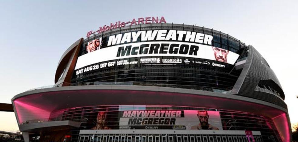 Mayweather vs McGregor: horario del combate, televisión y apuestas