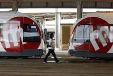 El tranvía ofrecerá este domingo servicios mínimos del 70 % en las líneas 4, 6 y 8 por la huelga