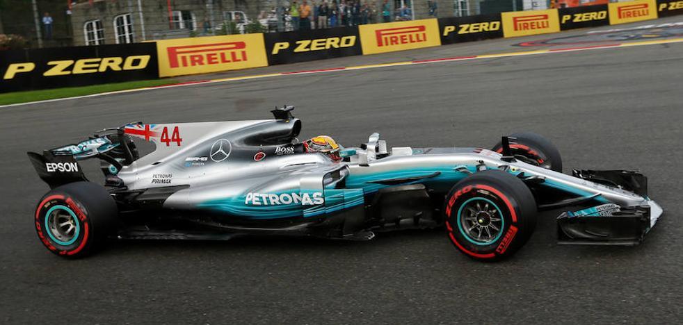 Hamilton iguala la leyenda de Schumacher