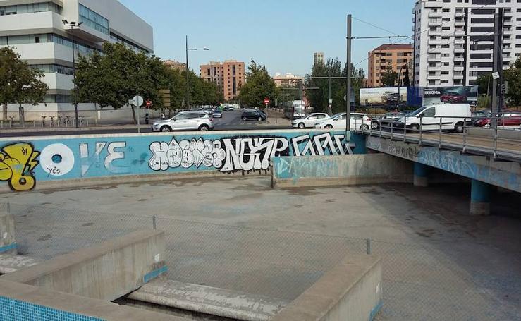 Fotos del acceso a Valencia desde la V-21