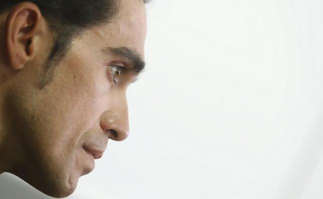 Contador: «Pensaban que venía a la Vuelta a despedirme y cumplir»