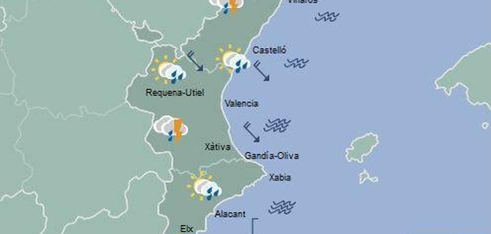 El tiempo en Valencia, Alicante y Castellón | ¿Hasta cuándo seguirá lloviendo?