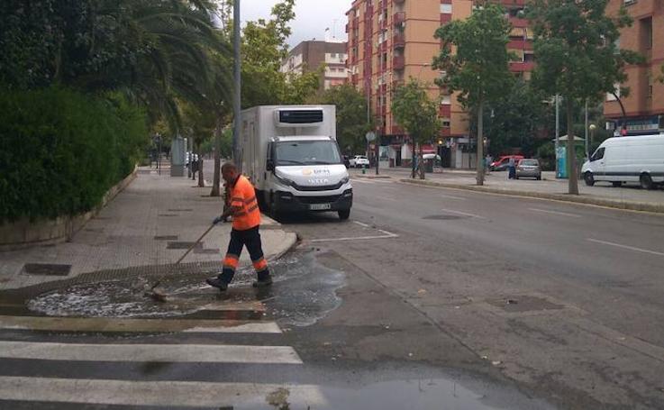 Fotos de las consecuencias de las lluvias de la madrugada del 29 de agosto