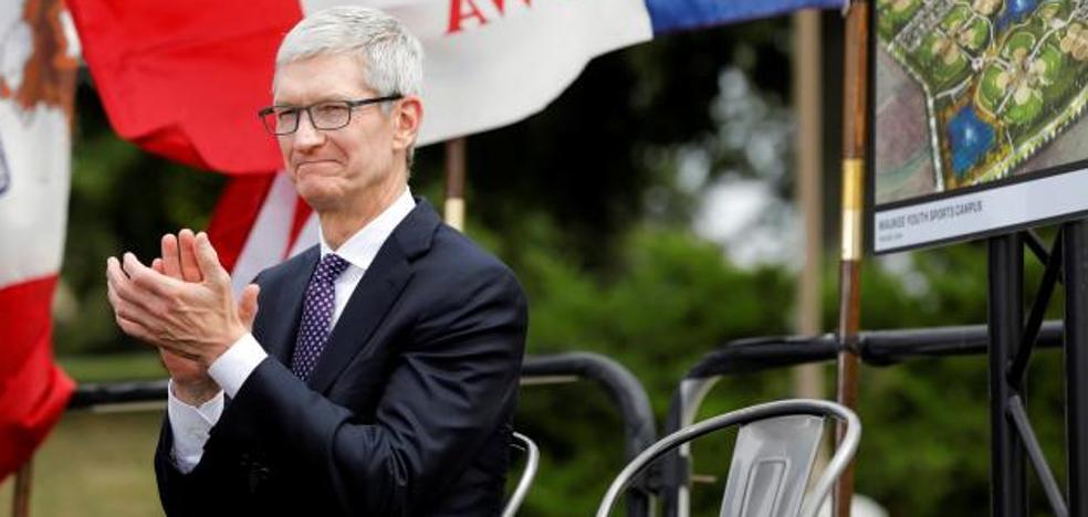 Tim Cook recibe 74 millones en acciones de Apple tras cumplir objetivos