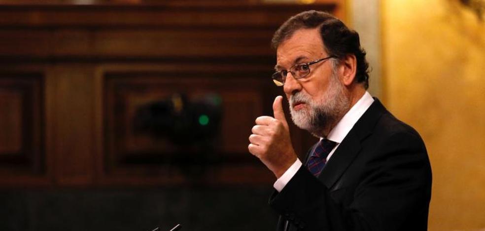 Rajoy garantiza «protección» a los catalanes frente al «proyecto autocrático» de la Generalitat