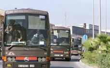 Un autobús arrolla a una mujer en la estación de autobuses de Torrevieja