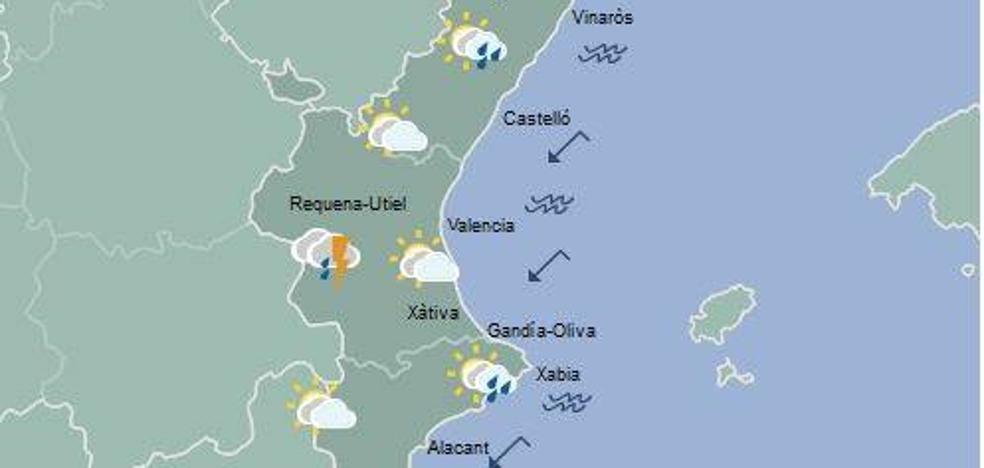 El tiempo en Valencia, Alicante y Castellón | Siguen las lluvias en la Comunitat Valenciana