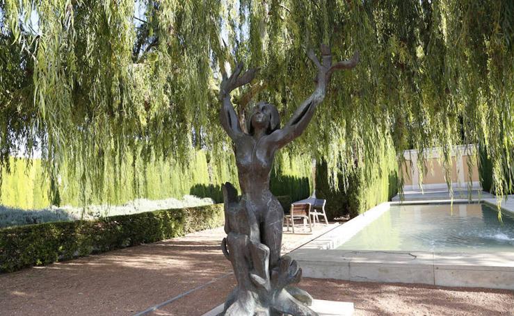 Fotos de las estatuas mitológicas de Valencia