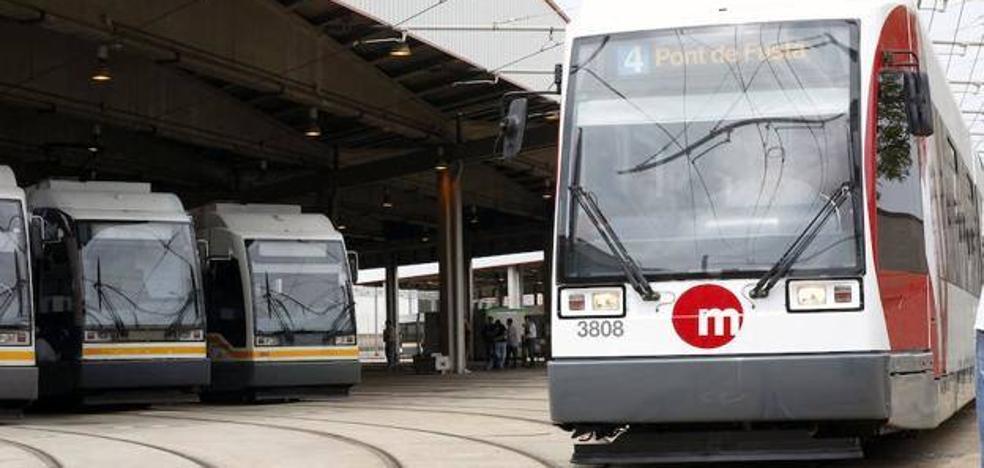 Se reanuda la circulación en el tramo de la Línea 4 del tranvía entre Pont de Fusta y Primado Reig