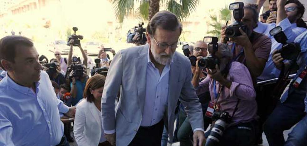 Rajoy avisa a Puig: «No habrá nuevo modelo de financiación si no hay acuerdo con el PSOE»